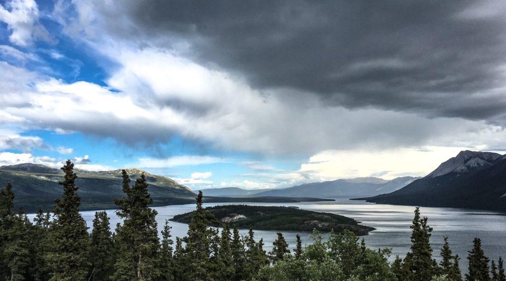 Bove Island am Klondike Highway