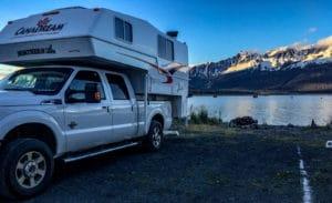 Campsite in Seward