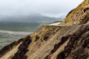 Straße im Denali National Park