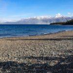 Blick auf den Kluane Lake