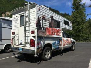 Truck Camper vom Milepost