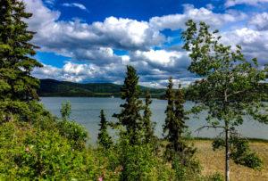 Blick auf den Quartz Lake